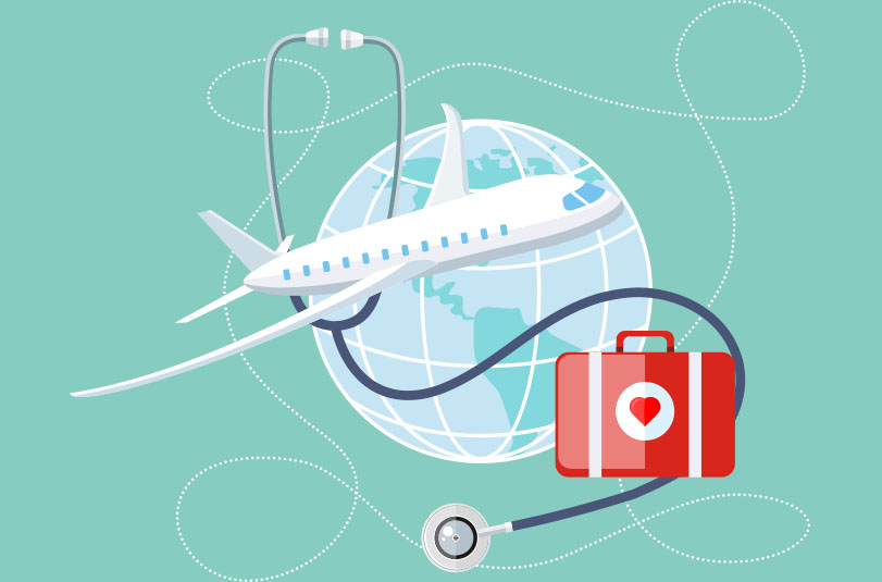 What type of insurance should you look for in medical tourism?