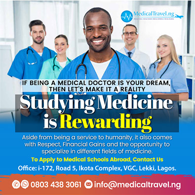 If Being A Medical Doctor Is Your Child's Dream, Let's Make It a Reality