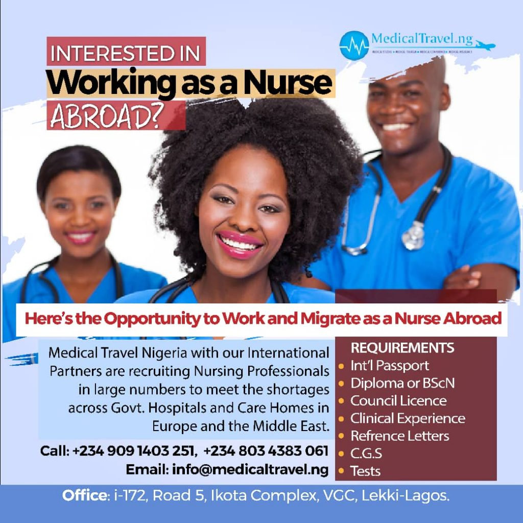 Interested in Working as a Nurse Abroad?