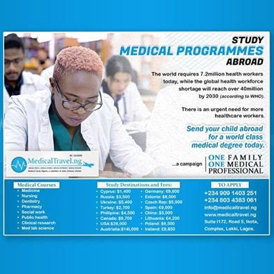 Studying Health care Related Programmes Abroad